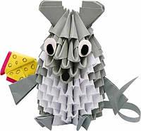 Творчество Модульное оригами Мышка орігамі Стратег Strateg, 203-3  009725