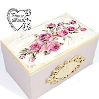 Скринька Троянди 11 * 18 * 9 см