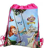 Сумка-мешок/рюкзак для спортивной формы и сменной обуви с мультяшным принтом «Принцесса»