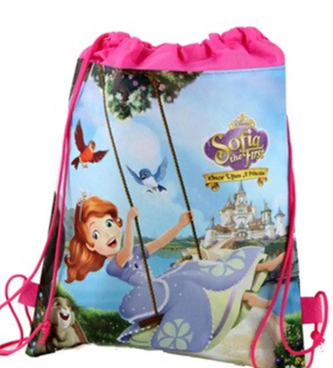 a3aec51e22e2 Сумка-мешок/рюкзак для спортивной формы и сменной обуви с мультяшным  принтом «Принцесса