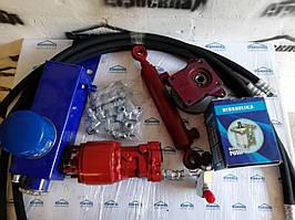Комплект гидравлики на рулевое управление на минитрактор, мотоблок