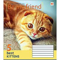 Тетрадь YES 24 листа клетка Be my friend (20) (320) №761610