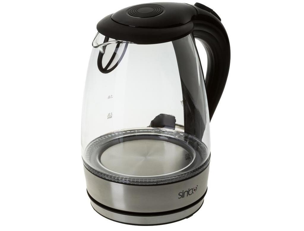 Электрочайник,чайник стекло SINBO 2 литра LED подсветка чайник 2000Вт