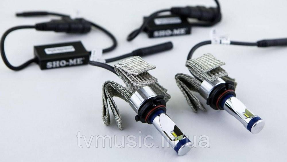 Светодиодная лампа Sho-Me G6.2 H3 6000K 25W