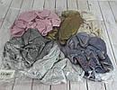 Объемные резинки для волос текстиль с напылением d 10 см 12 шт/уп, фото 5
