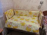 Защита  в детскую кроватку , фото 2