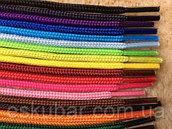 Шнурки тонкие цветные 70см