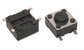 Кнопка тактовая 6x6x4,3 mm SMD 4pin