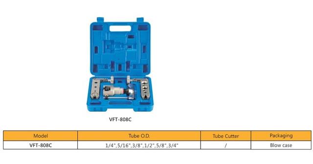 Набор для обработки труб VALUE VFT 808 -С (две планки дюйм )