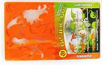 Трафарет мир динозавров