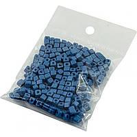 Бисер квадратный оттенки сине-синего
