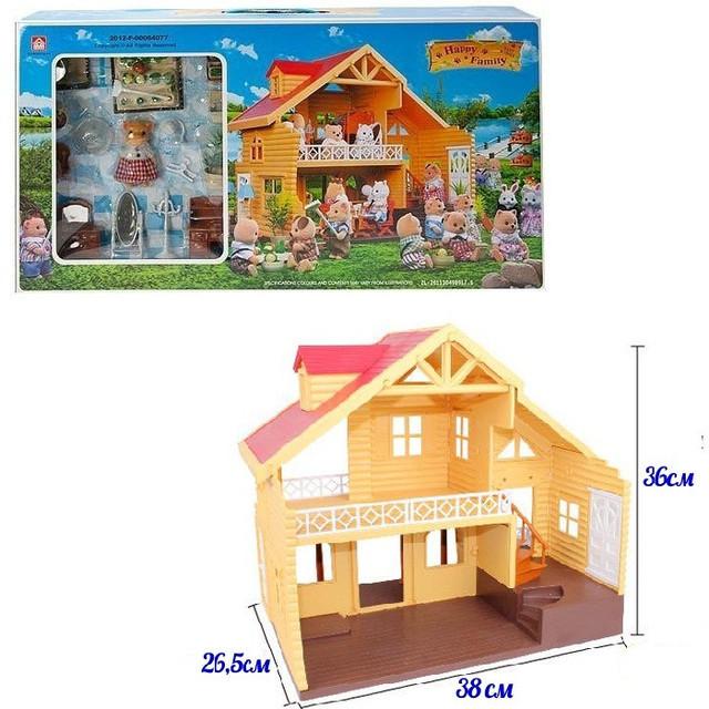Дом для мышек Happy family 012-03 - фото 1