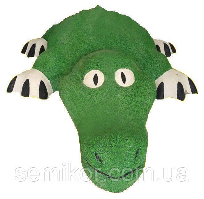 """3D фигура из резиновой крошки """"Крокодил"""""""