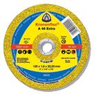Круг отрезной (абразивный диск) по металлу  Kronenflex  125 Крон. 41 14А 1,6, 22,2, A46 Extra