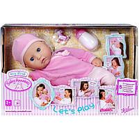"""Кукла """"My first Babby Annabell-Настоящая малышка"""" 36 см, интерактивная, аксессуары (4) №792766"""