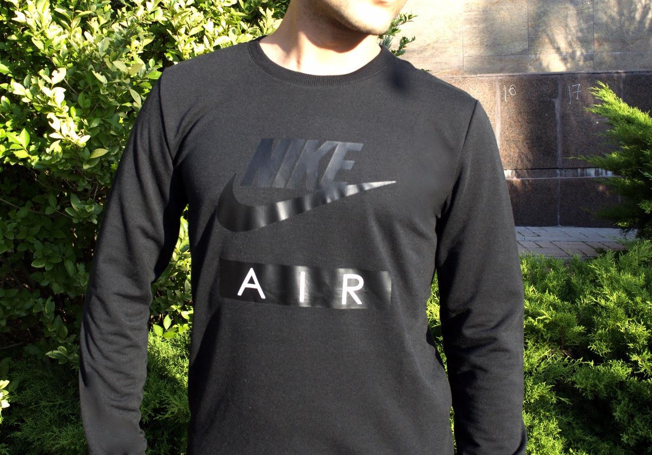 Свитшот стильный Nike графит топ реплика