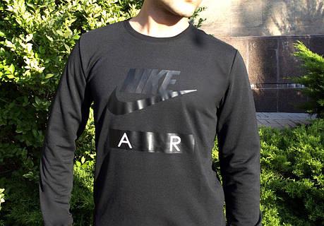 Свитшот стильный Nike графит топ реплика, фото 2