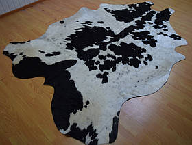 Шкура коровы, коровья шкура триколор 05, фото 3