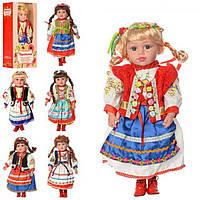 """Лялька """"Україночка"""" м'яконабивна,47см,муз.(укр пісня) ,в кор-ці,49х23,5х12см №M1191-W-N(24)"""