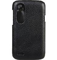 Чехол-накладка Melkco Leather Snap Cover Black for HTC Desire V T328w/X T328e (O2DESVLOLT1BKLC)