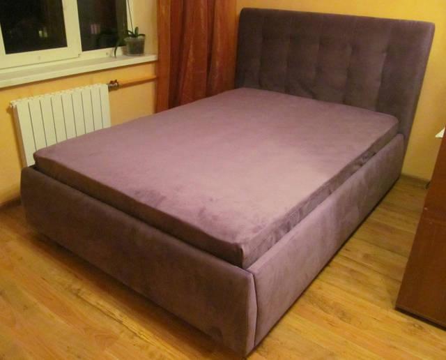 Разнообразные варианты двуспальных кроватей с мягким изголовьем сделанные нами по эскизам, индивидуально на заказ 6