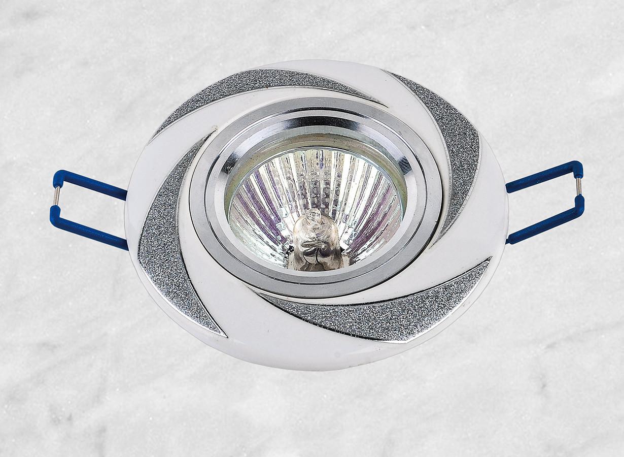 Керамический круглый светильник (модель 05-96 хром)