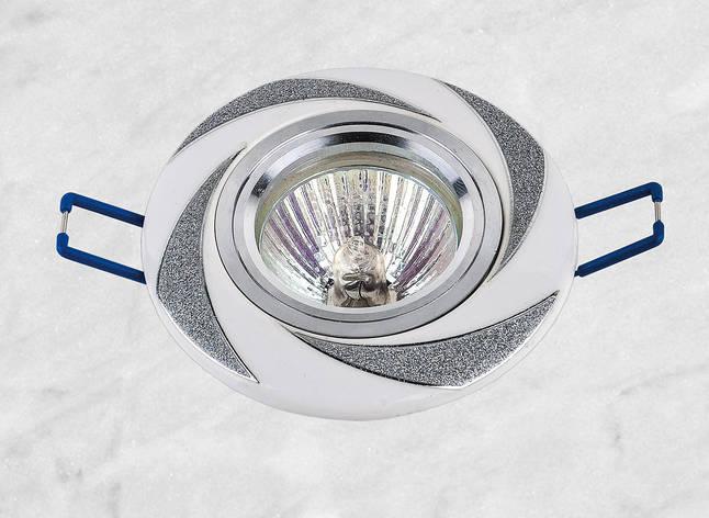 Керамический круглый светильник (модель 05-96 хром), фото 2