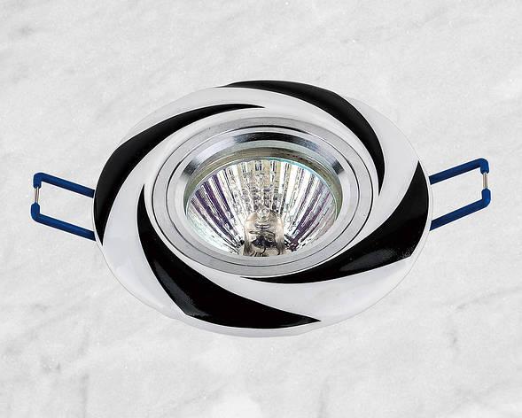 Керамический круглый светильник (модель 05-96 чёрный), фото 2