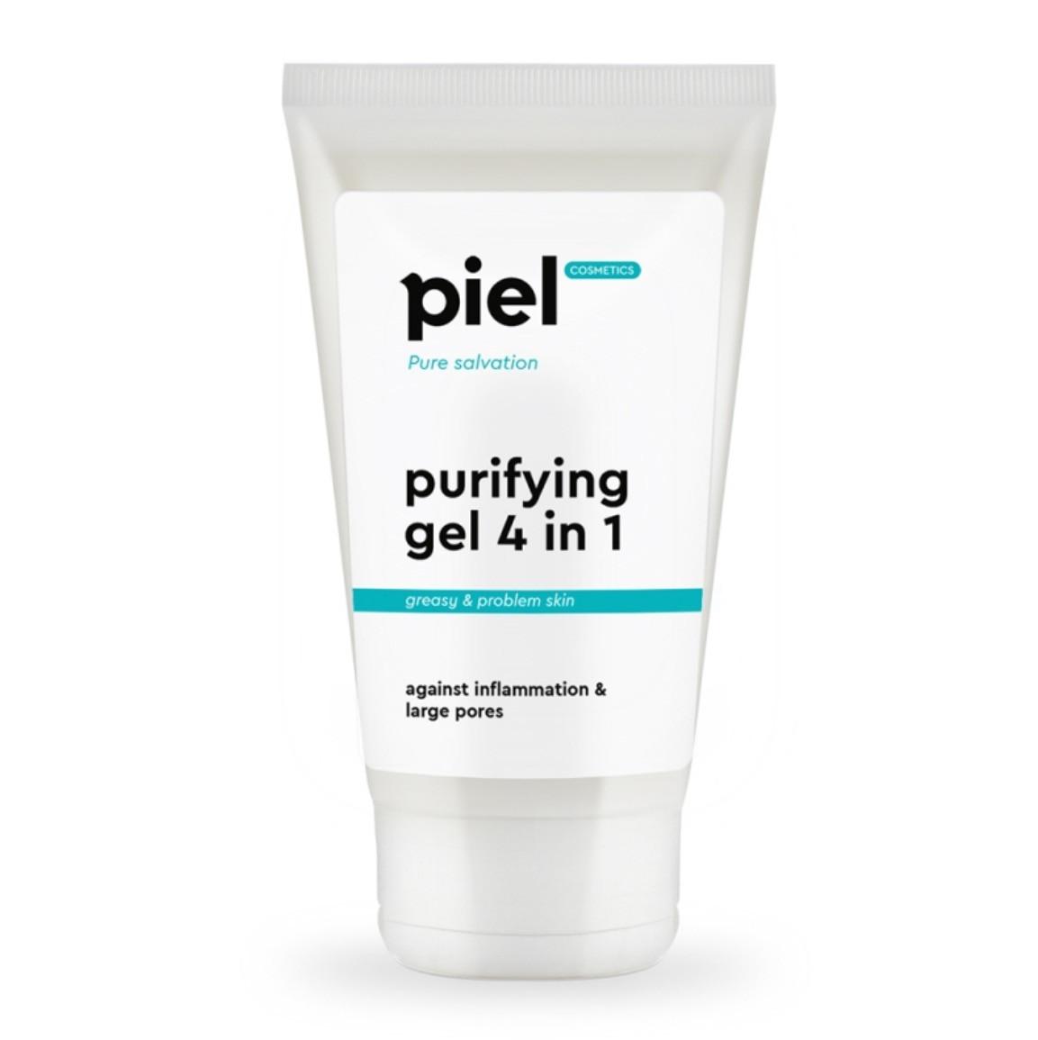 Purifyinc Gel Cleanser 4in1 - Гель для умывания для проблемной кожи. Глубокое очищение, 150 мл