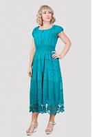 Платье женское с ажурным низом , фото 1
