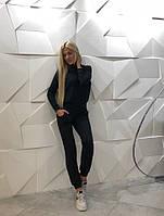 Спортивный костюм черный  из ангоры 1237, фото 1