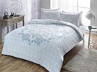 TAC Hazel Blue семейный комплект постельного белья