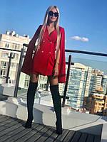 Платье-пиджак с открытыми рукавами 1135, фото 1