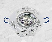 Керамический круглый светильник (модель 05-99 хром)