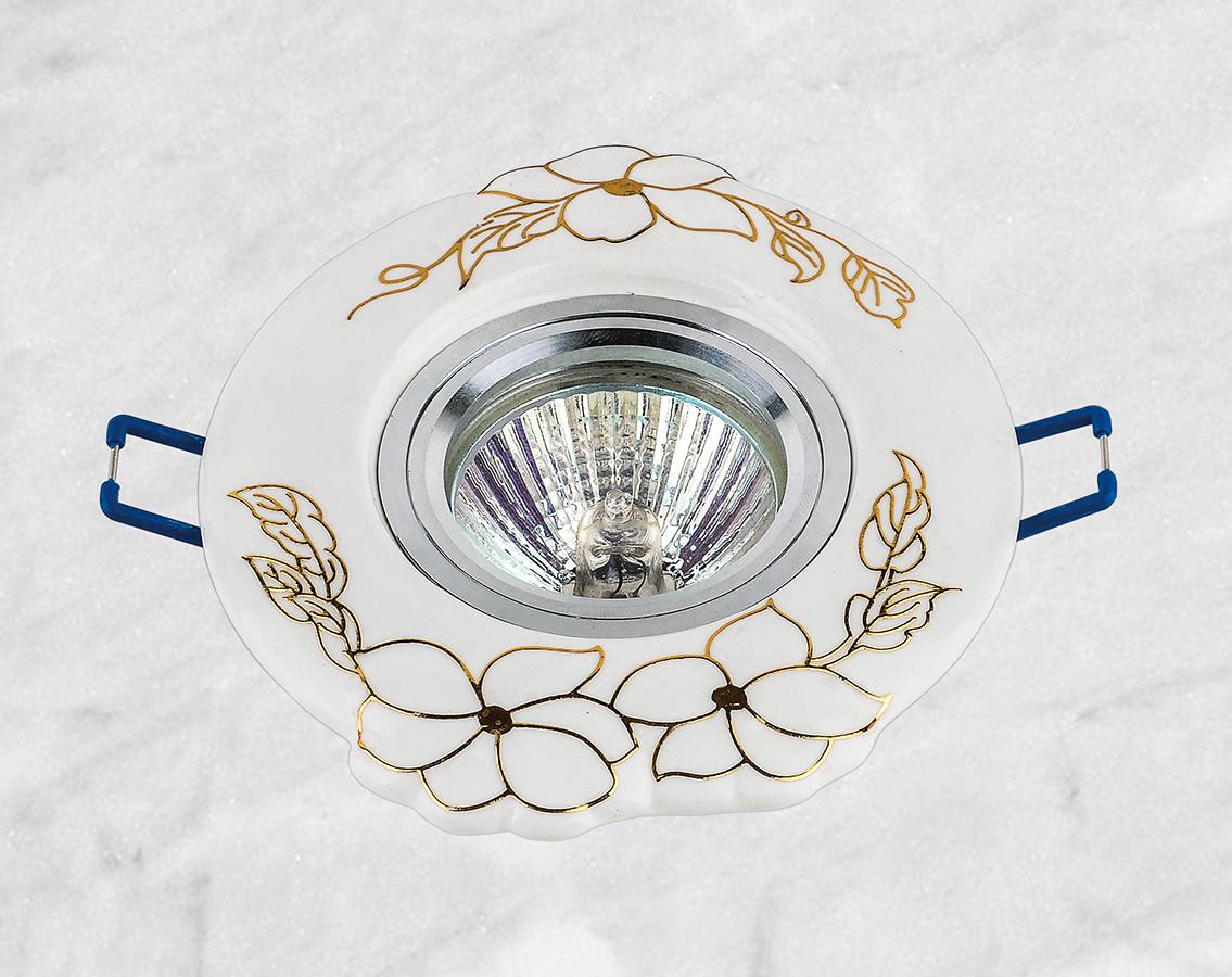 Керамический круглый светильник (модель 05-99 золото)