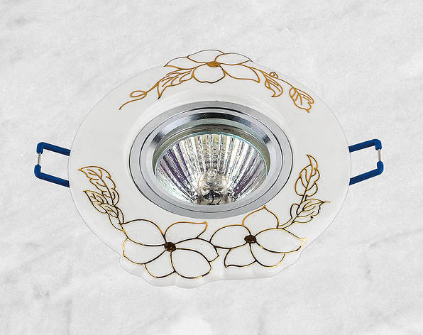 Керамический круглый светильник (модель 05-99 золото), фото 2
