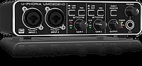 USB аудиоинтерфейс Behringer U-PHORIA UMC202HD