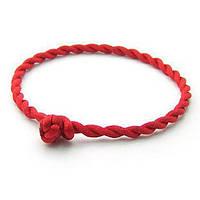 Красная нить в виде браслета
