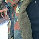 Камуфляж НАТО BUNDESWEHR флектарн (утеплений. фліс), фото 4