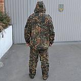 Камуфляж НАТО BUNDESWEHR флектарн (утеплений. фліс), фото 5