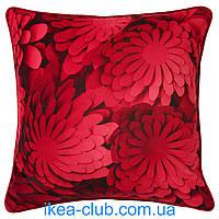 Подушка IKEA VINTER 2018 704.167.98 темно-красный