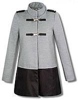 Пальто серое женское,весеннйи плащ, весенние пальто ,полупальто