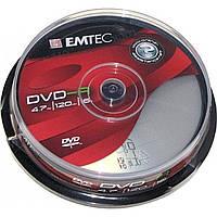 DVD-R 16х 4. 7Gb/120min Emtec штырь (10)