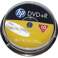 DVD+R 16х 4. 7Gb/120min HP штырь (10)