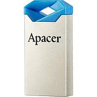"""Флеш-память 16GB """"Apacer"""" AH111 USB blue/crystal"""