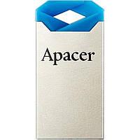 """Флеш-память 32GB """"Apacer"""" AH111 USB blue/crystal"""