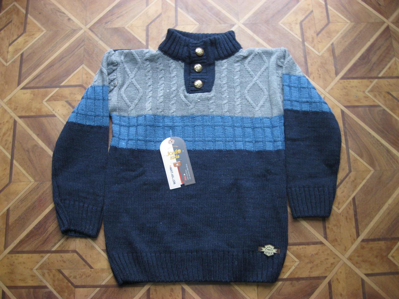 теплый вязаный свитер для мальчика 8 9 лет турция продажа цена в