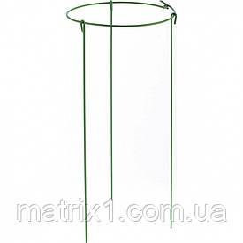 Опора для растений круглая, D 28 см, H 45 см, 3 шти в упаковке, металл в пластике. PALISAD