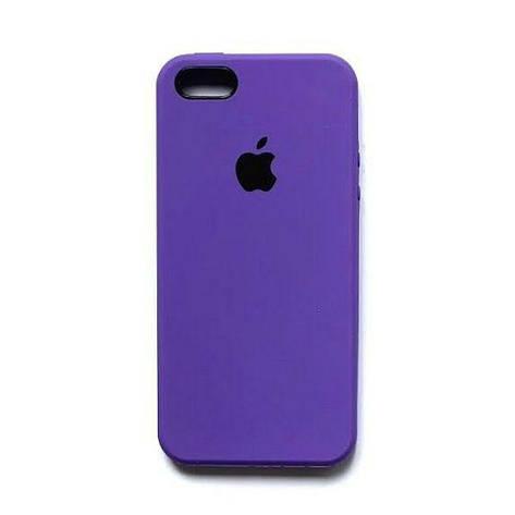 Силиконовый чехол Original Case Apple iPhone 5 / 5S / SE (02), фото 2