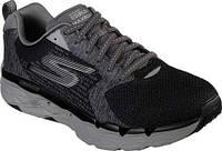 Мужские кроссовки Skechers GOrun MaxRoad 3 Ultra Running Shoe Black Gray 2a9e71cf172